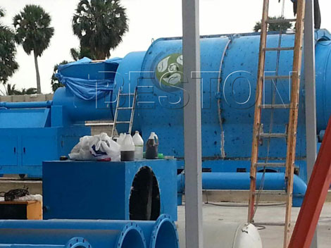 BLJ-10 Plastic Pyrolysis Plant Installed in Dominica