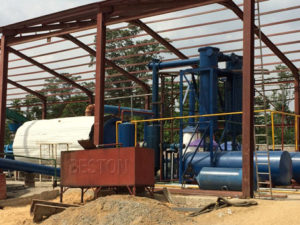 BLL-16 Oil Sludge Recycling Plant in Nigeria