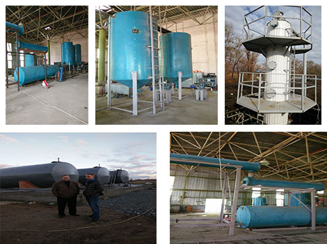 Beston Plastic to Diesel Plant in Ukraine