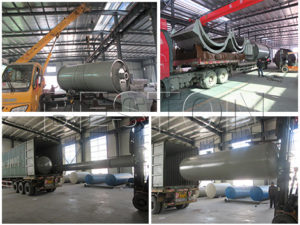 Beston Waste Pyrolysis Plant Shipped to Netherlands