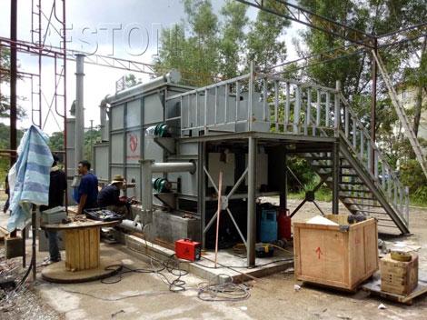 Beston biomass pyrolysis plant in Malaysia