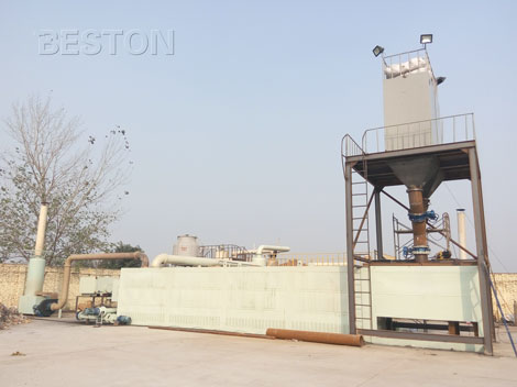 Beston fully continuous pyrolysis plant