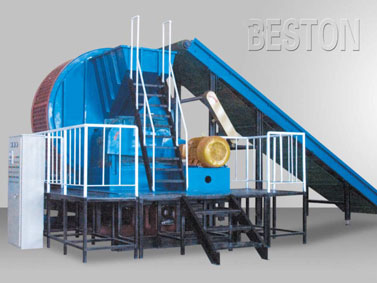 Comprehensive Tyre Shredder for Waste Pyrolysis Plant