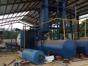 Fuel/Engine Oil Sludge Treatment Plant