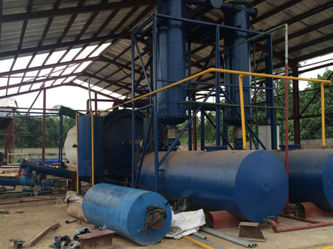 Engine Oil Sludge Treatment Plant - Fuel Oil Sludge Removal Plant