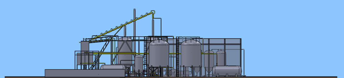 Oil Distillation Plant Banner