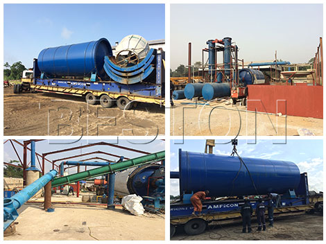 Oil Sludge Pyrolysis Plant Installed in Nigeria
