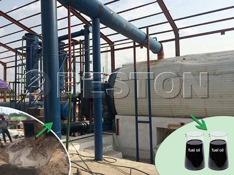 Oil Sludge Treatment Pyrolysis Plant
