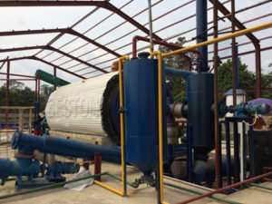 Oil sludge Treatment Pyrolysis Plant