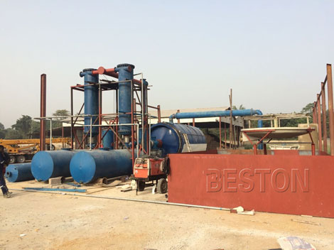Petroleum Sludge Treatment Plant