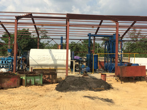 Semi Continuous Pyrolysis Plant