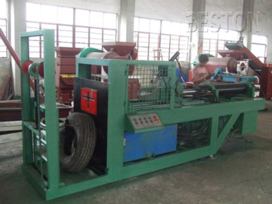Steel Wire Remover for Tyre Recycling Equipment