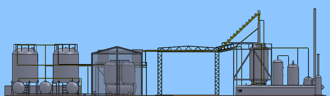Waste Oil Distillation Plant Banner