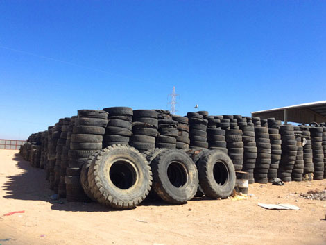 Waste Tyre Pollution