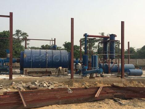petroleum oil sludge treatment