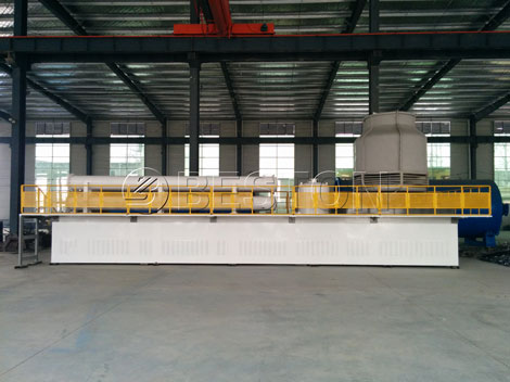 plastic pyrolysis plant in china
