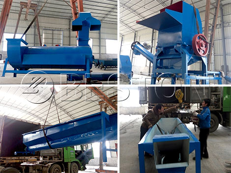 plastic recycling machine manufacturers