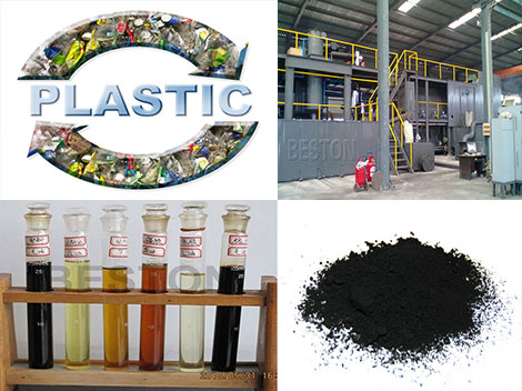 plastic to fuel machine