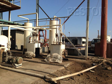 tyre pyrolysis oil distillation plant