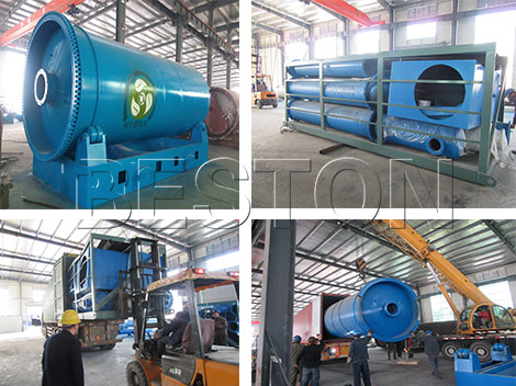 Beston BLJ-10 & BZJ-6 Plant Shipped to Dominica