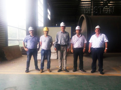 Hungary customers come to visit China Beston for cooperation