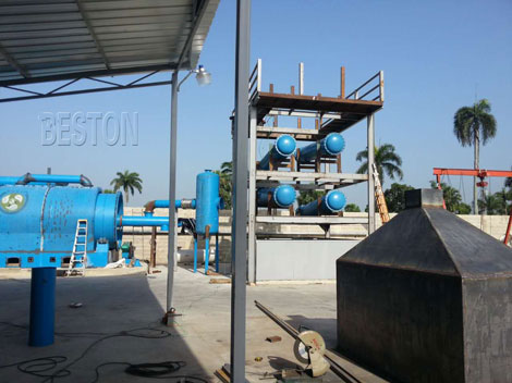 Waste Plastic Pyrolysis Plant Installed in Dominica