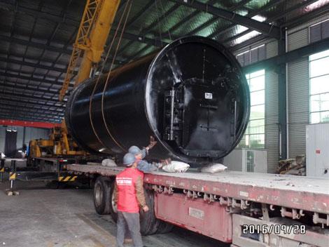Plastic Pyrolysis Recycling Machine