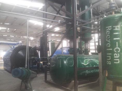 Beston Tyre to Oil Plant in Turkey