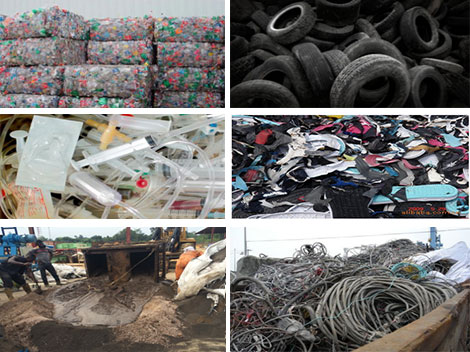 Raw Materials for Continuous Pyrolysis