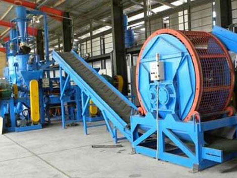 Rubber Recycling Machine