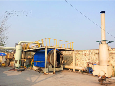 Small Scale Plastic Pyrolysis Plant