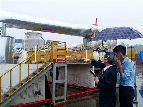 Welcome Korea customers to Beston Machinery!