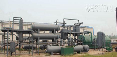 plastic pyrolysis oil price