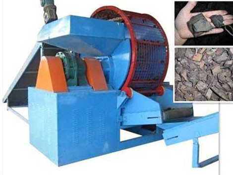 tire shredding equipment