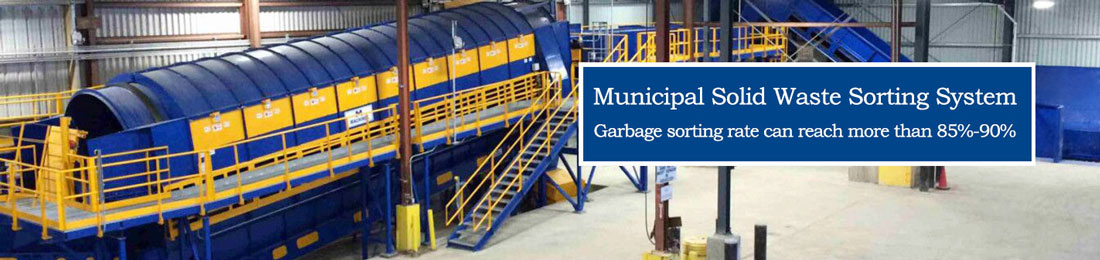 waste sorting banner