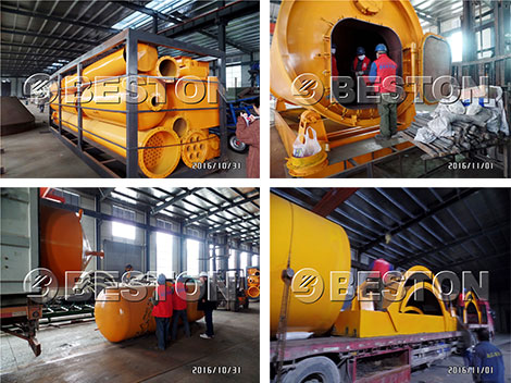Beston Machinery Exported to Indonesia