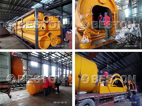 Beston Machinery Exported to Indonesia