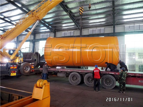 Beston Pyrolysis Plant & Distillation Plant Shipped to Indonesia