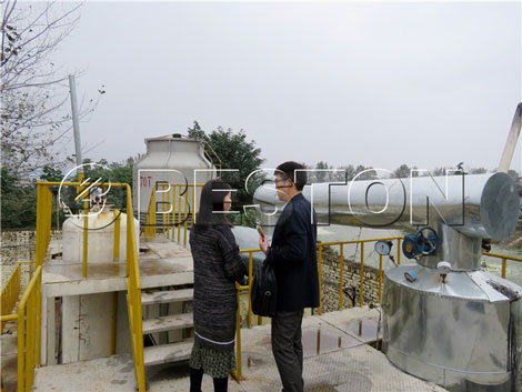 Korean Customer Mr. Lee's Meaningful Visiting to China Beston Group