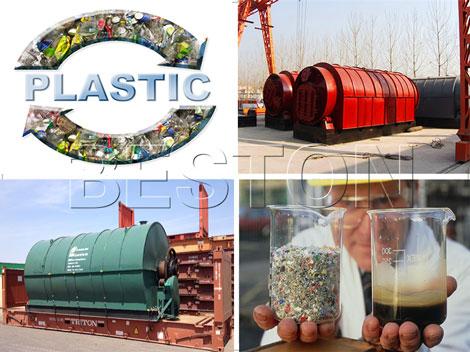 Oil from Plastic Machine
