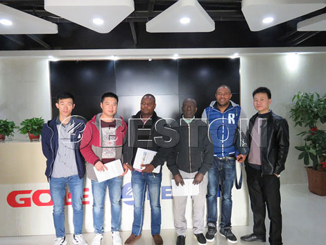 Welcome Ivory Coast Customers to China Beston Group!
