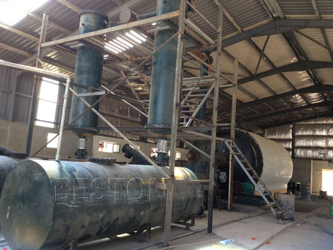 use of tyre pyrolysis oil