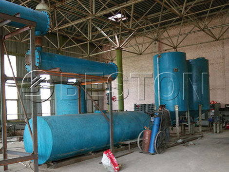 Beston Waste Oil Distillation Equipment