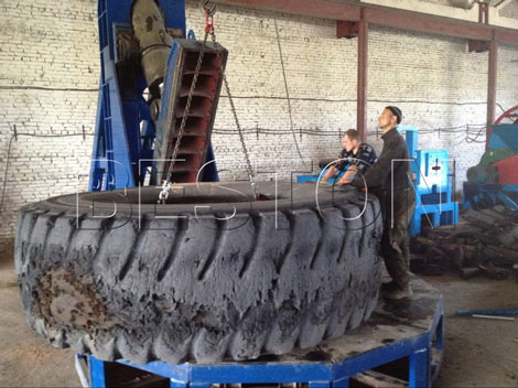 Tire cutting machine for sale