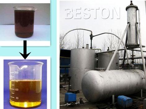 Waste Oil Distillation and Regeneration Equipment