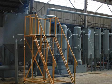 biomass charcoal making machine