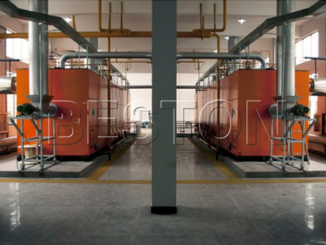 carbonizing machine
