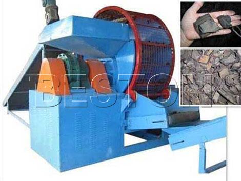tyre crushing machine