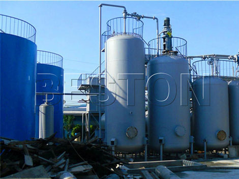 Waste oil recycling plant for sale used engine oil and for Used motor oil recycling equipment