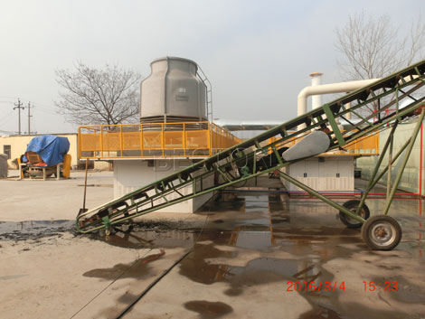 Fully Continuous Waste Pyrolysis Equipment with Capacity of 30-50T/D